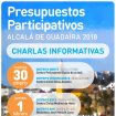 Cartel presupuestos participativos