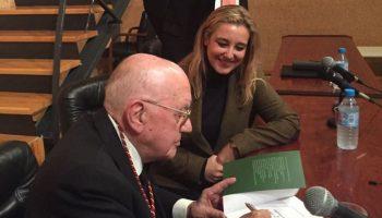 Vicente Romero y alcaldesa