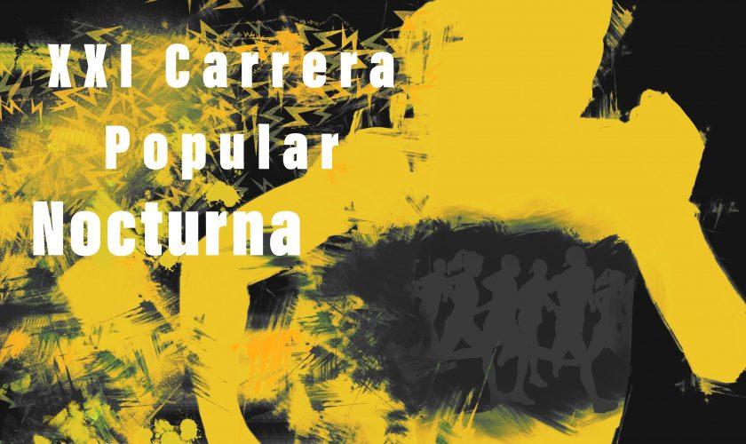 cartel carrera nocturna 2018 JUNIO