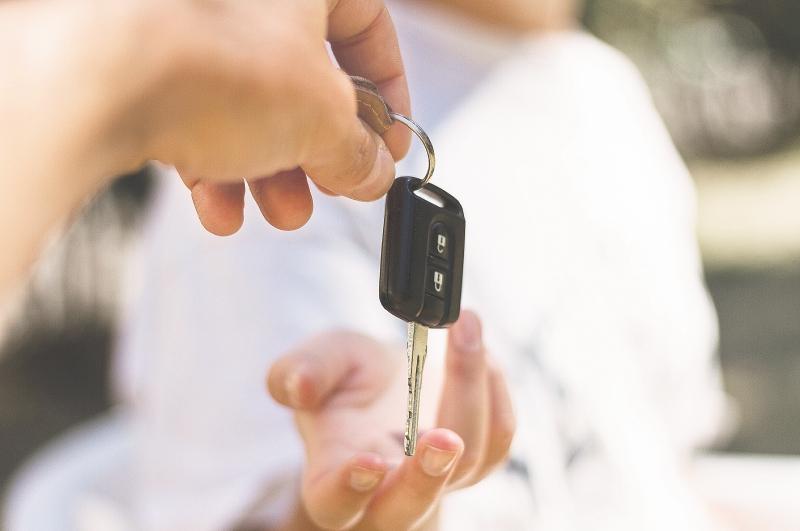 llave coche