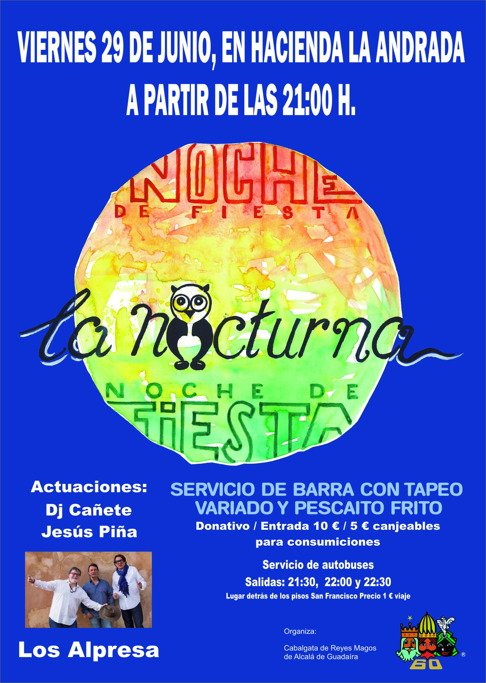 cartel fiesta de junio