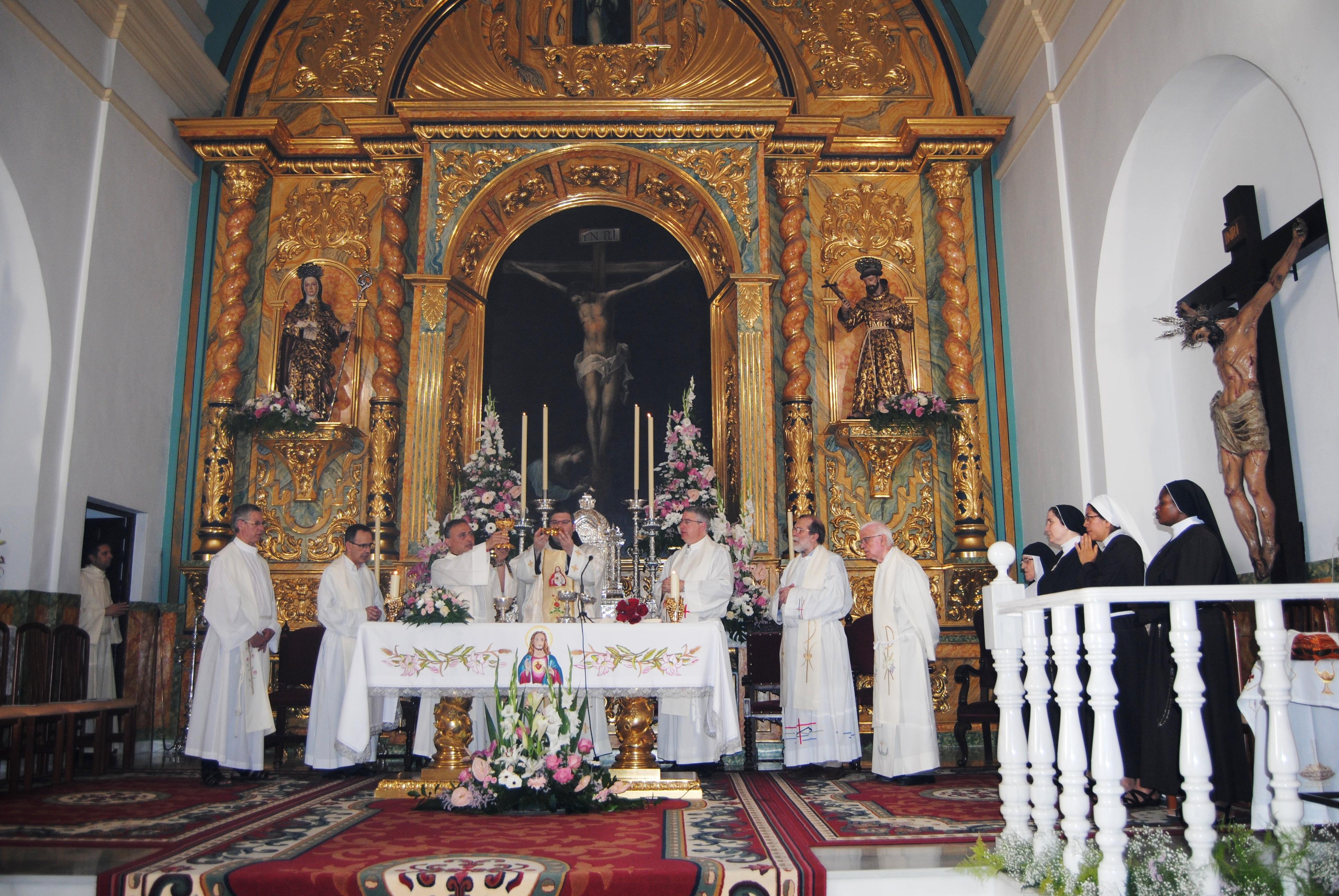 Capilla del Monasterio de Santa Clara de Alcalá de Guadaíra