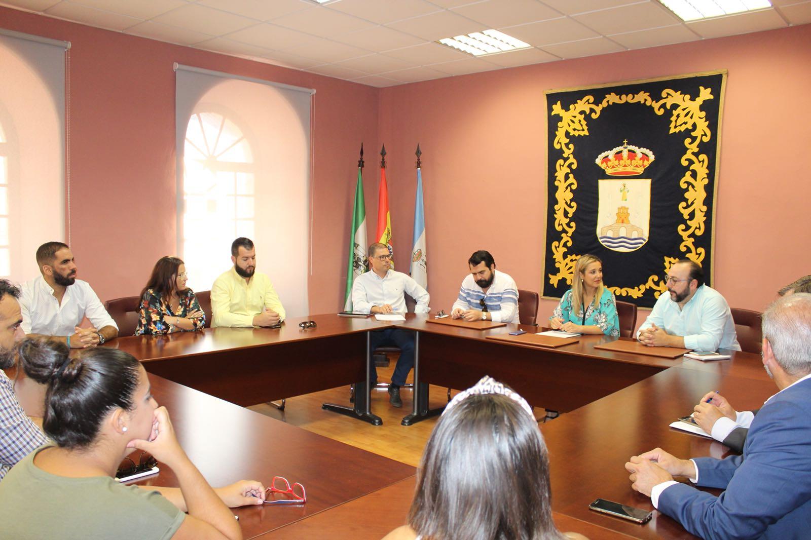 Reunión Ayto Asociación Hosteleros Alcalá