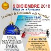 Cartel fiesta encendido navideño Alcalá Gra