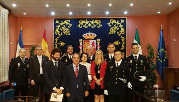 Posado condecoraciones CNP Alcalá 2019