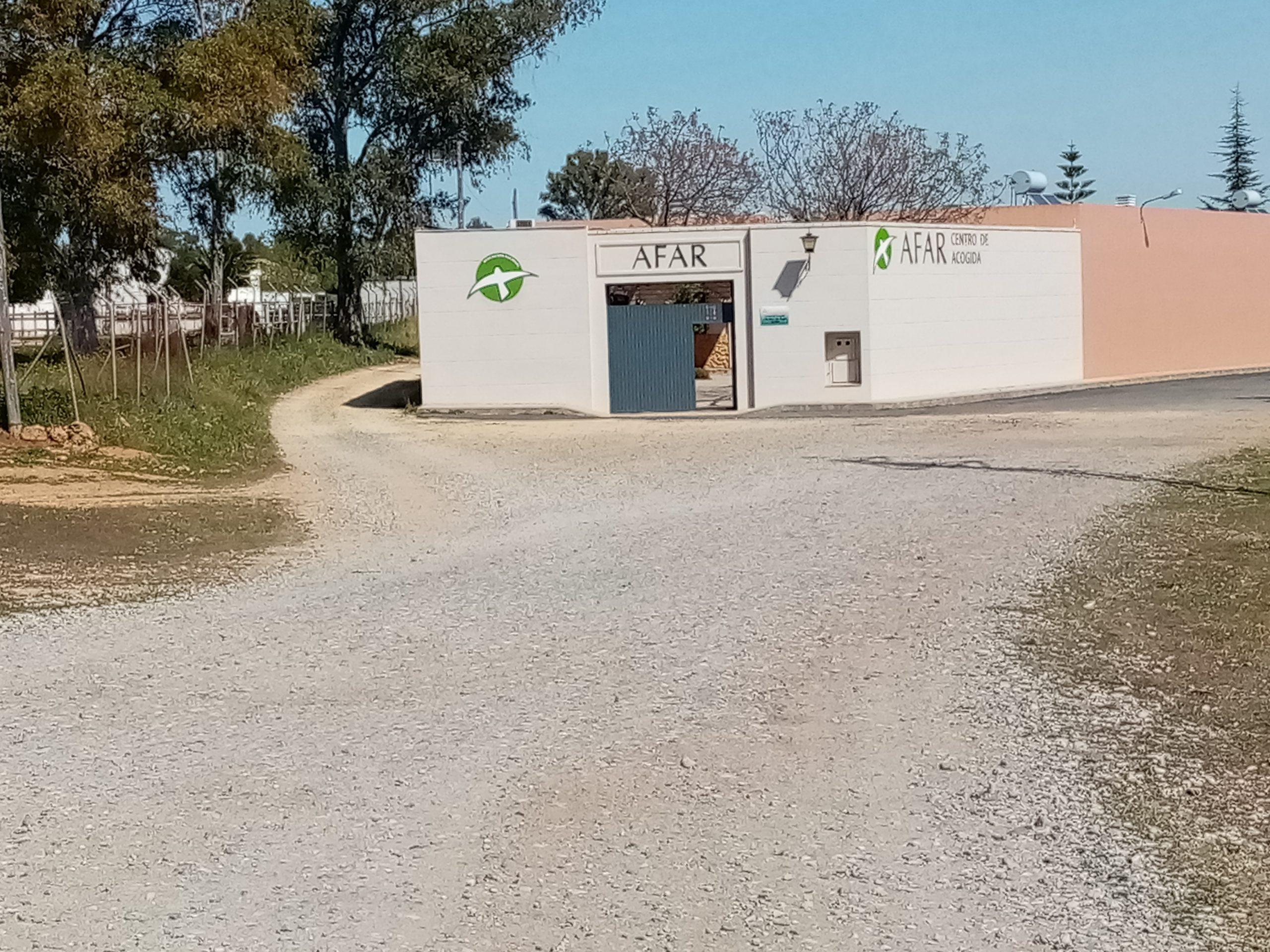 camino acceso sede AFAR
