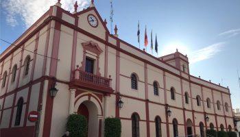 fachada ayuntamiento Alcalá Guadaíra