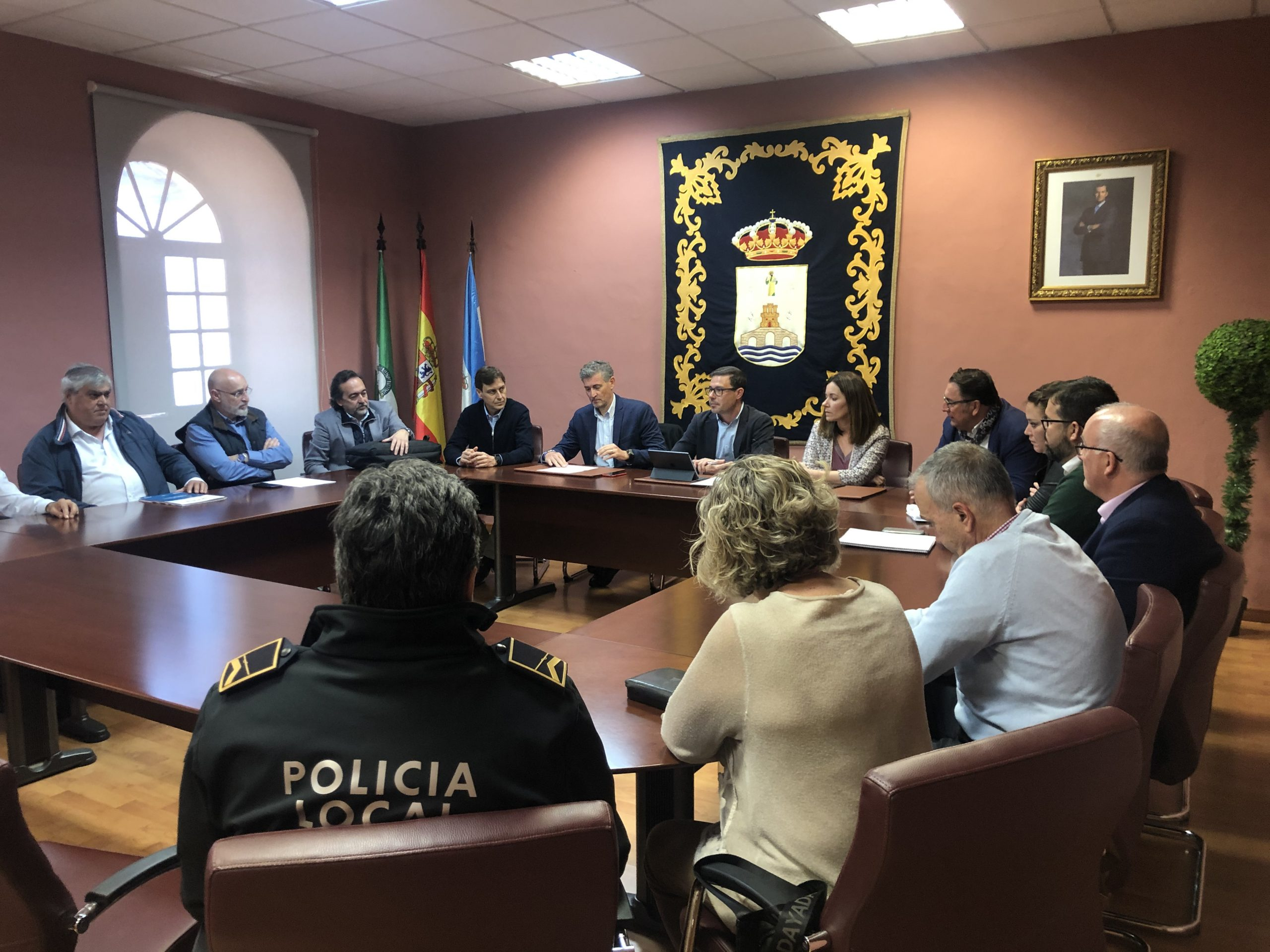 reunión Alcalá Coronavirus
