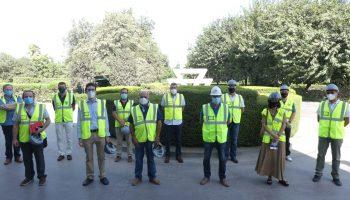 Visita sindicatos a Cementos Portland Valderrivas 2