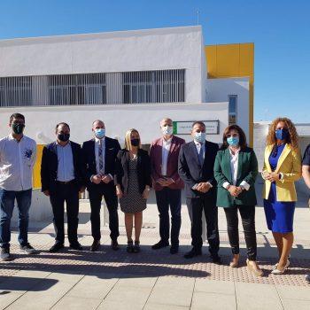 Imbroda inaugura las nuevas instalaciones del Colegio Rodríguez Almodóvar de Alcalá