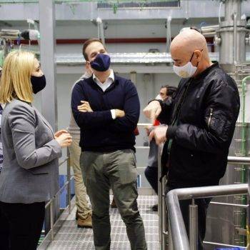 Visita a la planta de la empresa Cervezas Granvía