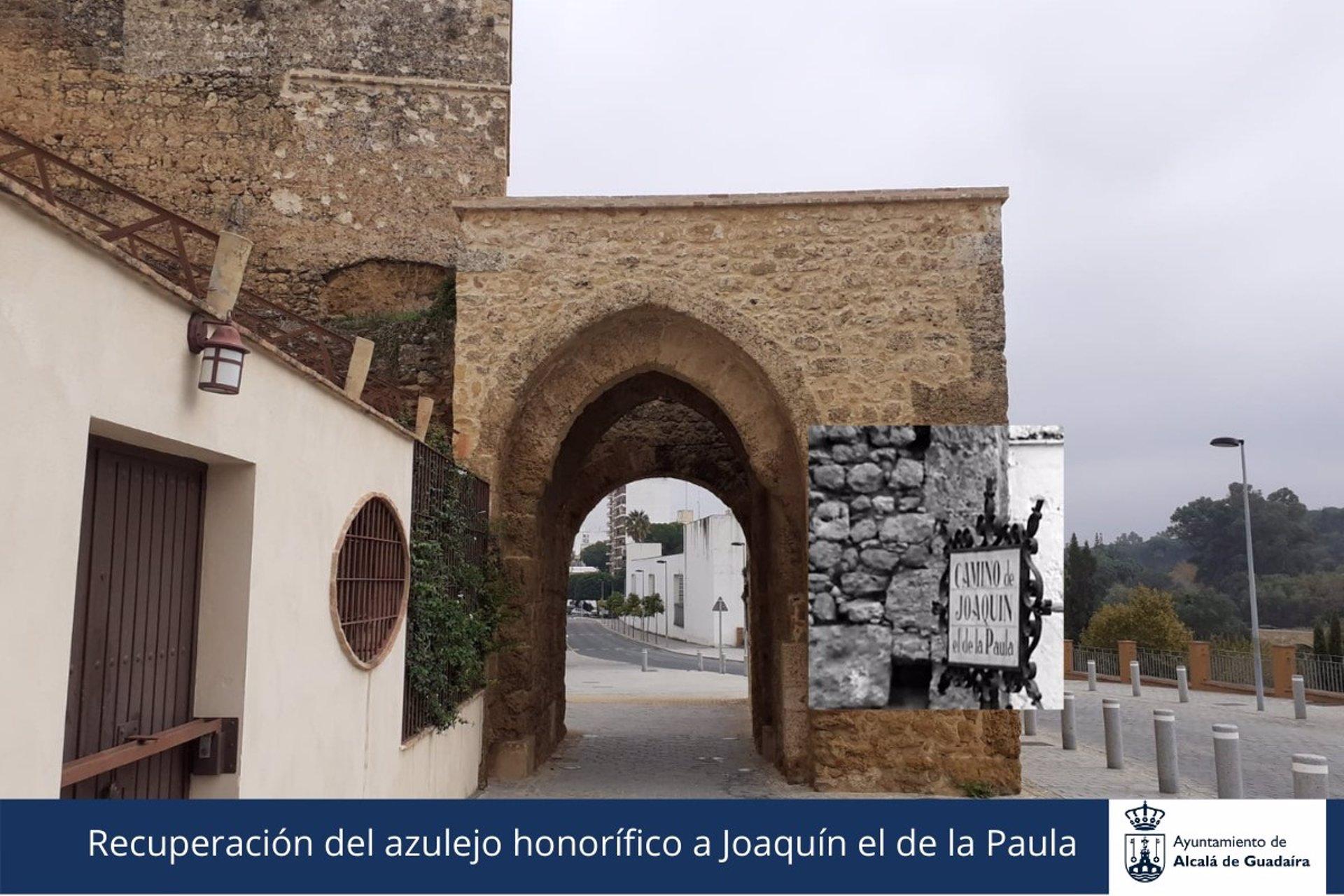 Sevilla.- El Ayuntamiento de Alcalá de Gudaíra recuperará la memorial del 'Camino de Joaquín el de Paula'