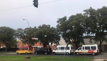"""Sevilla.- La familia de un niño autista avisa de """"riesgo de contagio"""" en el transporte escolar por los """"recortes"""""""