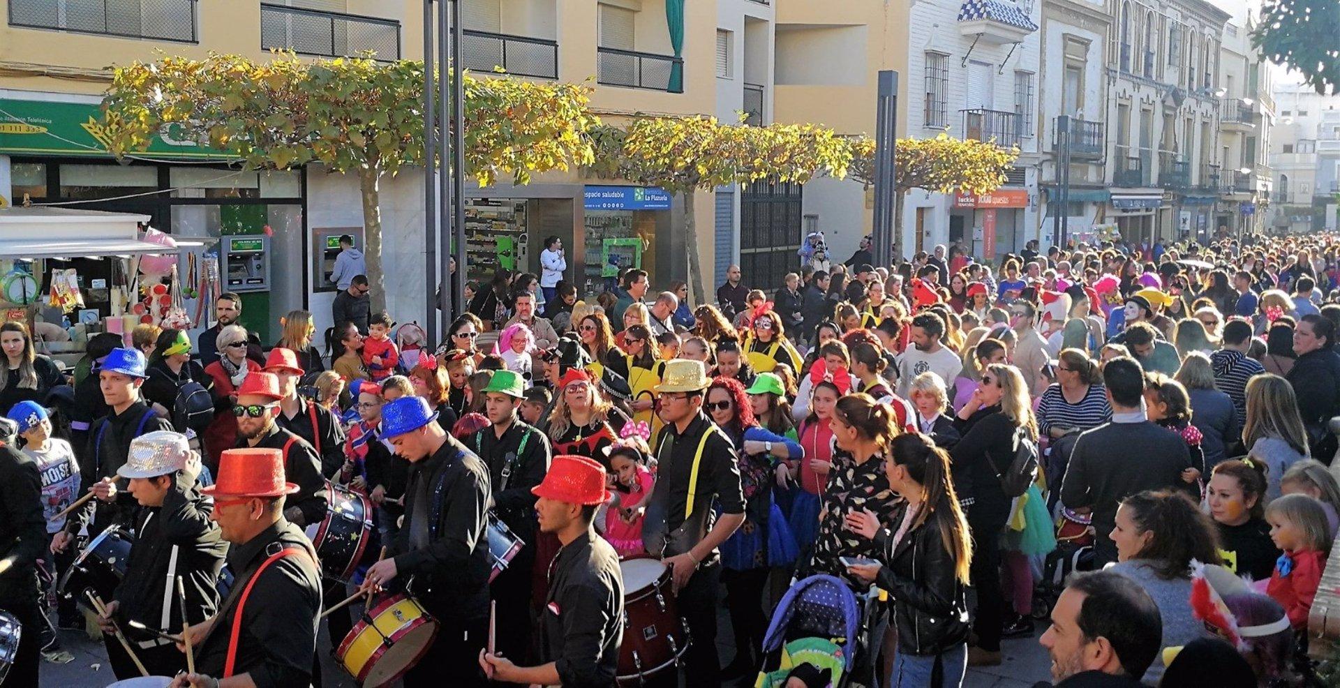 Sevilla.- Ayuntamiento de Alcalá de Guadaíra y la Asociación de Carnaval acuerdan la suspensión de la edición de 2021