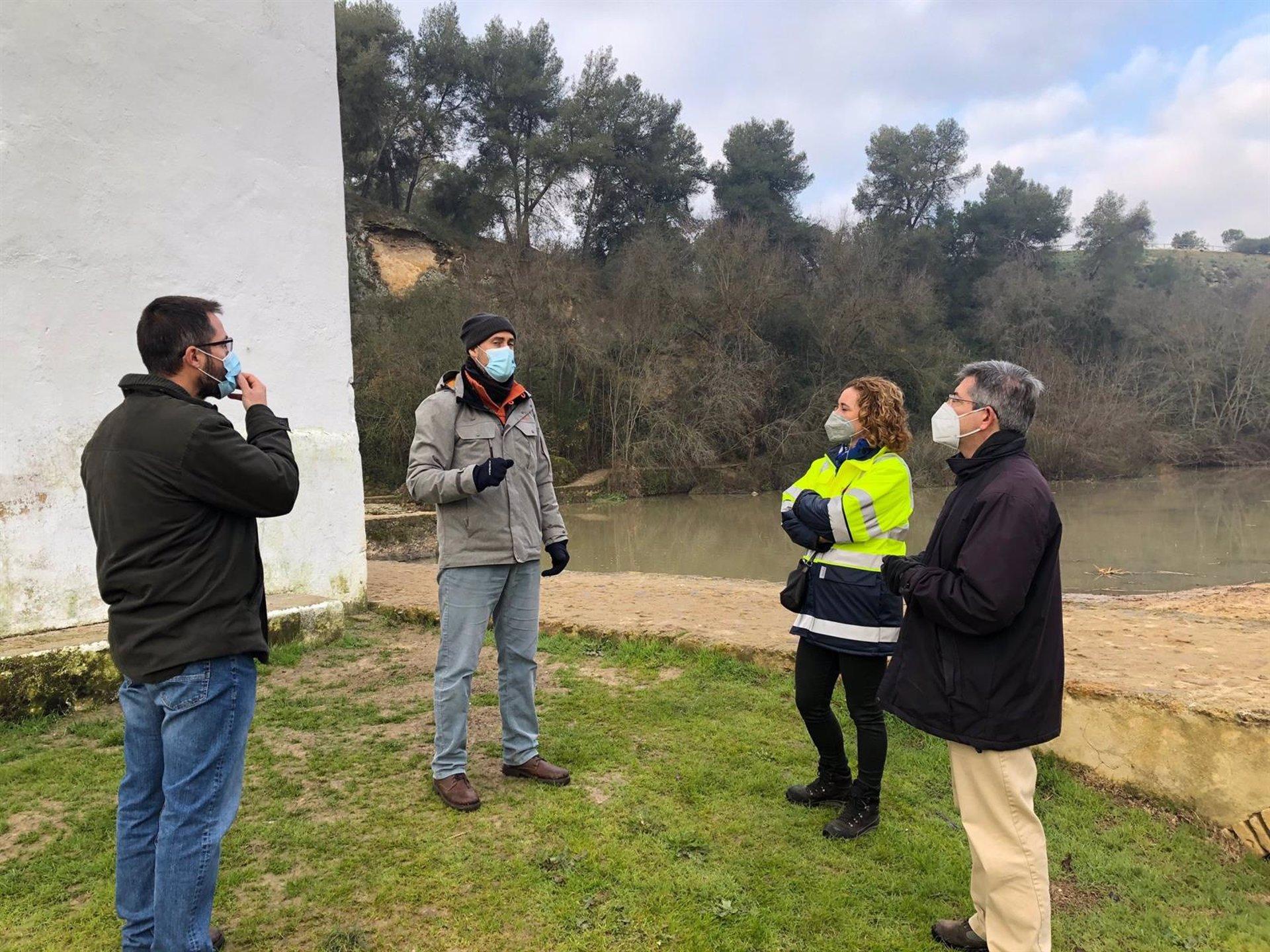 Sevilla.- Ayuntamiento de Alcalá y CHG pondrán en marcha un nuevo sistema de control de calidad del agua en el Guadaíra
