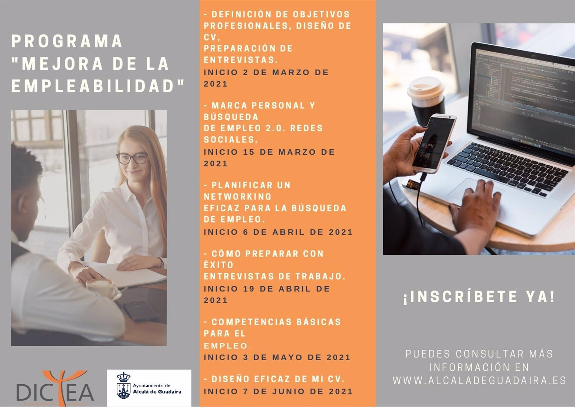 Sevilla.- Ayuntamiento de Alcalá de Guadaíra desarrolla un programa de mejora de empleabilidad y competencias
