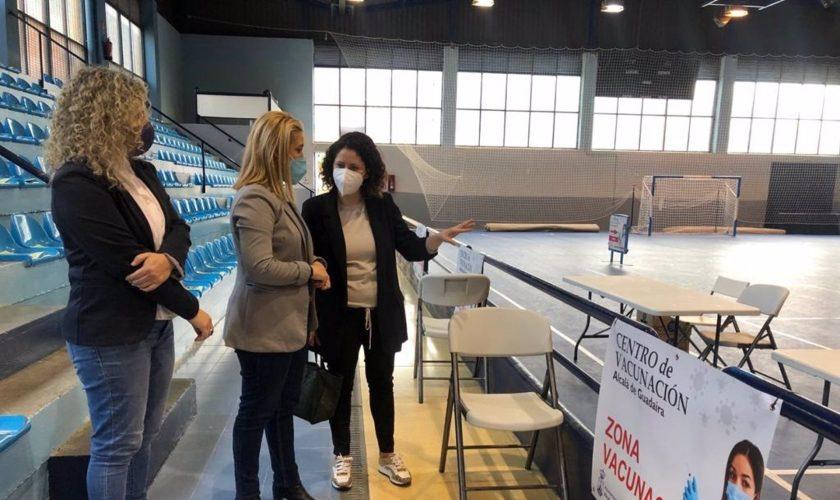 Sevilla.-Cvirus.- Ayuntamiento de Alcalá ha dispuesto un pabellón deportivo como centro de la campaña de vacunaciones