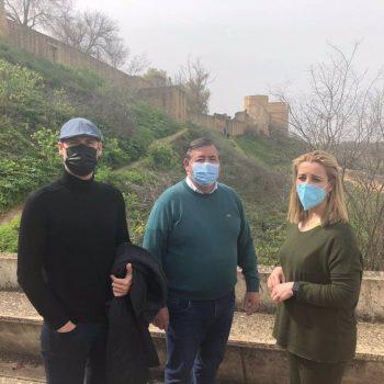 Sevilla.- La ladera del Castillo de Alcalá Guadaíra se convertirá en un paseo ajardinado con nuevo acceso a la fortaleza