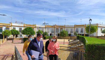 Visita plaza Miguel Ángel Blanco