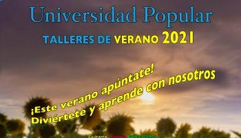 cartel Univ Popular verano 2021