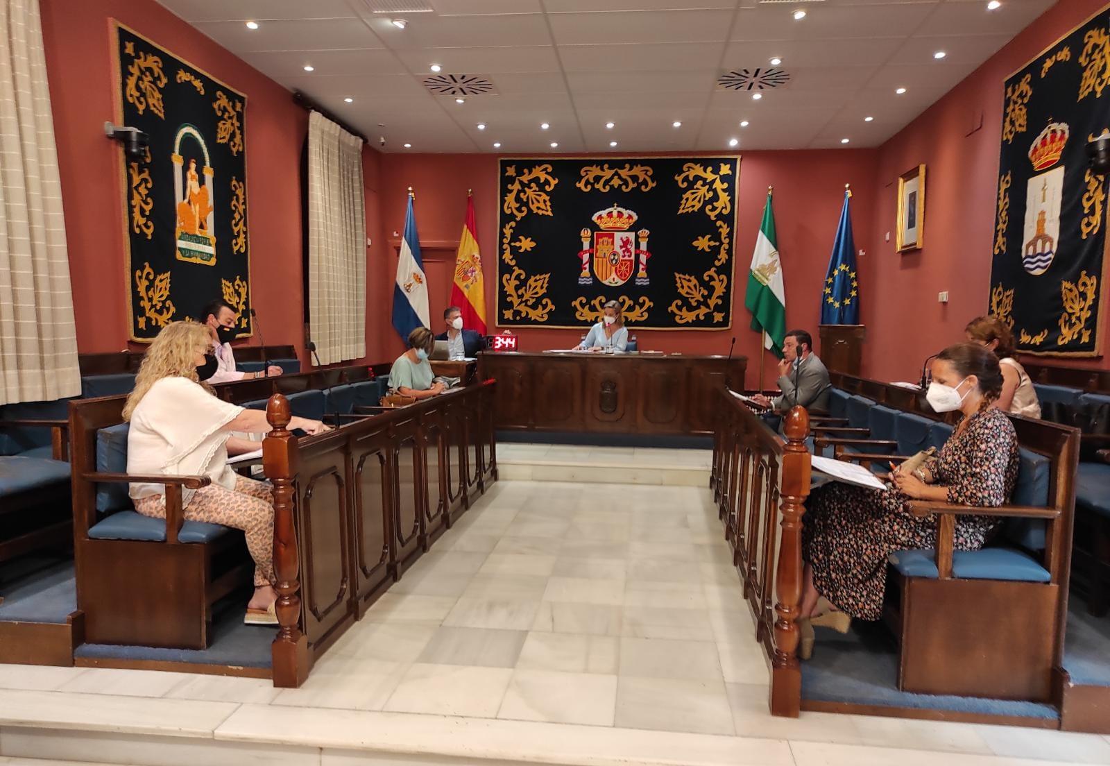Pleno municipal extraordinario julio
