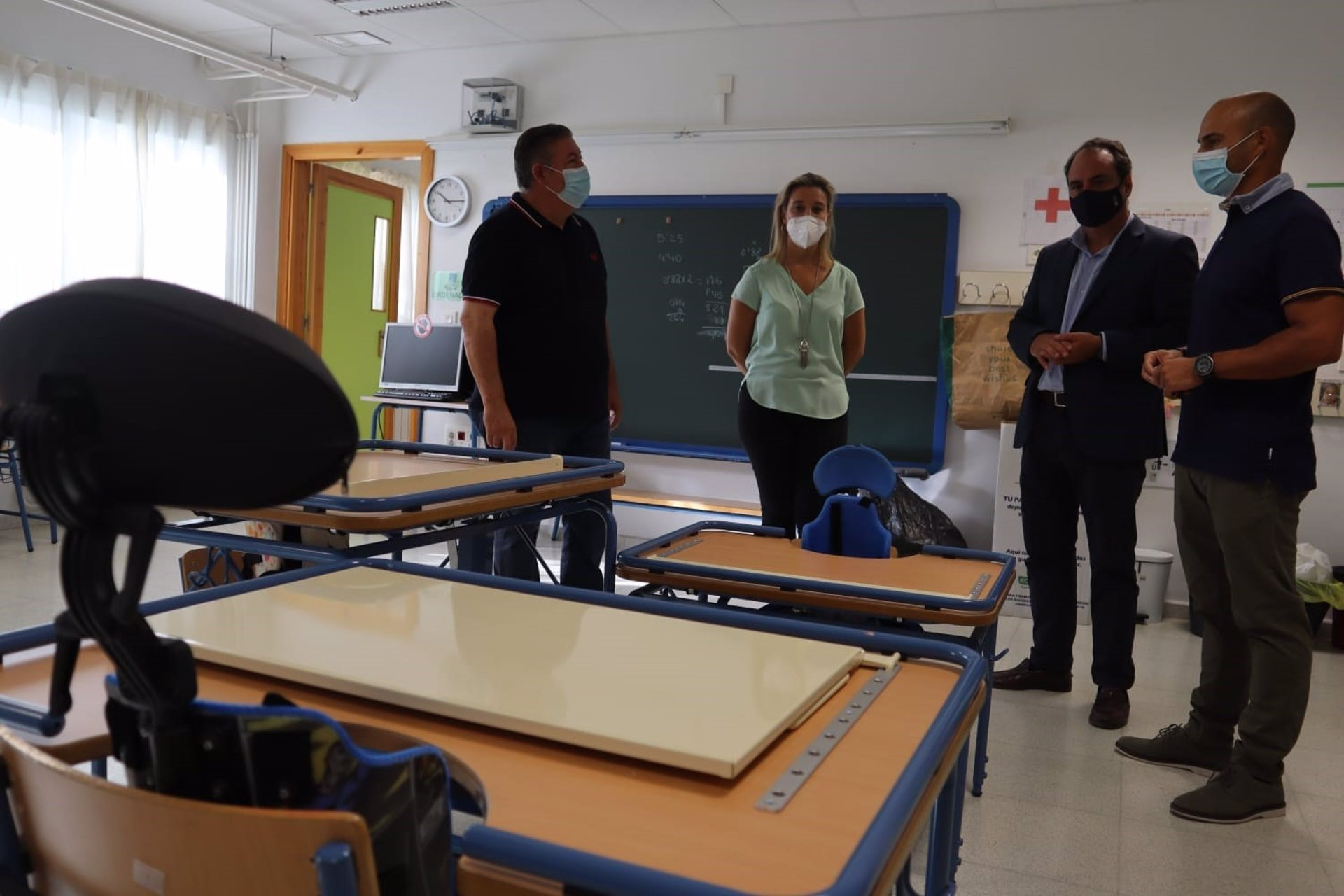 Sevilla.-Alcalá de Guadaíra invierte 700.000 euros en mantenimiento, accesibilidad y climatización de colegios