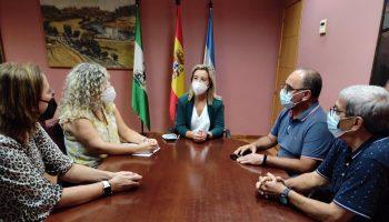 Reunión de la alcaldesa con la federación vecinal.